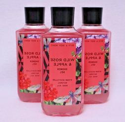 1 Bath & Body Works Wild Rose & Apple Shea Vitamin E Shower