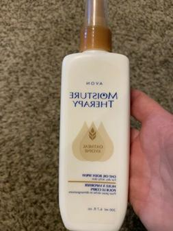 1 Avon MOISTURE THERAPY OATMEAL OIL BODY LOTION SPRAY FOR DR