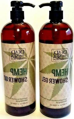 Dead Sea Collection - HEMP SHOWER GEL / Body Wash with Hemp