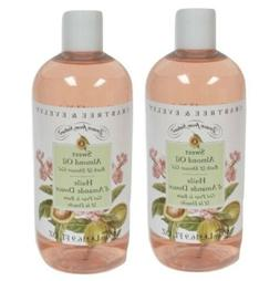 2 Crabtree&Evelyn Sweet Almond Oil Bath and Shower Gel Body