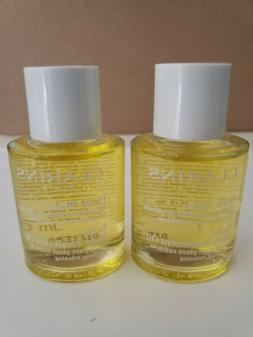 2-PACK CLARINS Relax Body Oil Treatment 100% Pure Plant Soot
