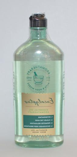 3 Bath and/& Body Works EUCALYPTUS Aromatherapy Body Wash &