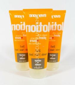 3 Everyone Lotion for Hands Face Body APRICOT & VANILLA 6 oz