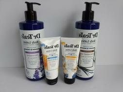 4 Dr. Teal's body lotions! Coconut Oil, Lavender, Chamomile,