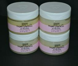 4 VICTORIAS SECRET PINK SCRUB DOWN COCONUT OIL SMOOTHING BOD