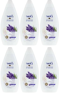 6 x relaxing ritual body wash lavender