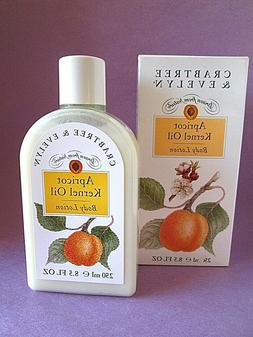 Apricot Kernel Oil Crabtree & Evelyn Body Lotion Vintage 250