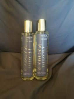 Bath and & Body Works lot x2 Amber & Argan Body Oil With Pur