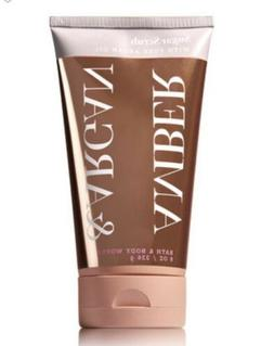 Bath and Body Works AMBER & ARGAN Sugar Scrub With Pure Arga
