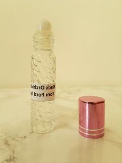 Black Orchid Tom Ford Type Perfume Body Oil Roll-on Bottle F