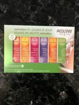 Weleda Body and Beauty Oil Collection 6 Count Skin Hair Mass