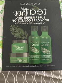 By My Beauty Spot Tea Tree 4 Pack Super Refreshing Body Care