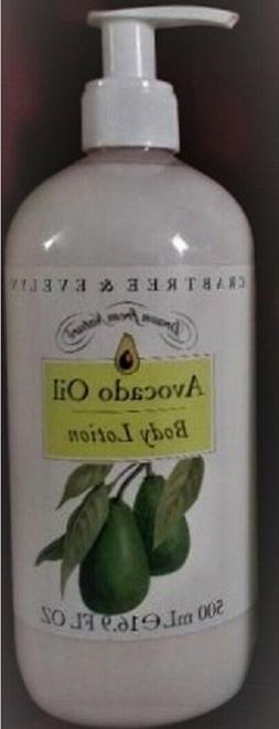 Crabtree & Evelyn AVOCADO OIL Body Lotion 16.9 fl oz with Pu