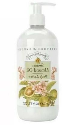 Crabtree & Evelyn SWEET ALMOND OIL Body Lotion w/ Pump 16.9
