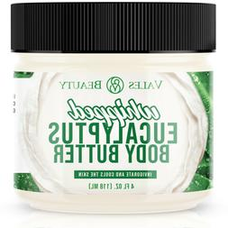 Eucalyptus Essential Oil Body Butter With Organic Shea Butte