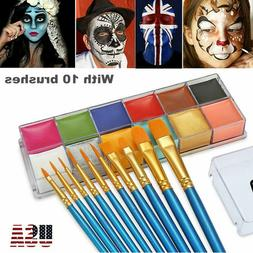 Face Body Paint Oil Painting Art Make Up Tool Party Costume