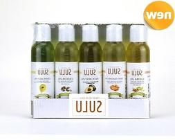 GIFT SET OF 5 ORGANIC 100% PURE ALL NATURAL CARRIER OILS FOR