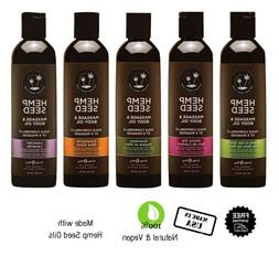 Earthly Body Hemp Seed Massage & Body with Essential OIls Ve