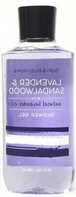 1 Bath & Body Works LAVENDER & SANDALWOOD Shower Gel  Wash N