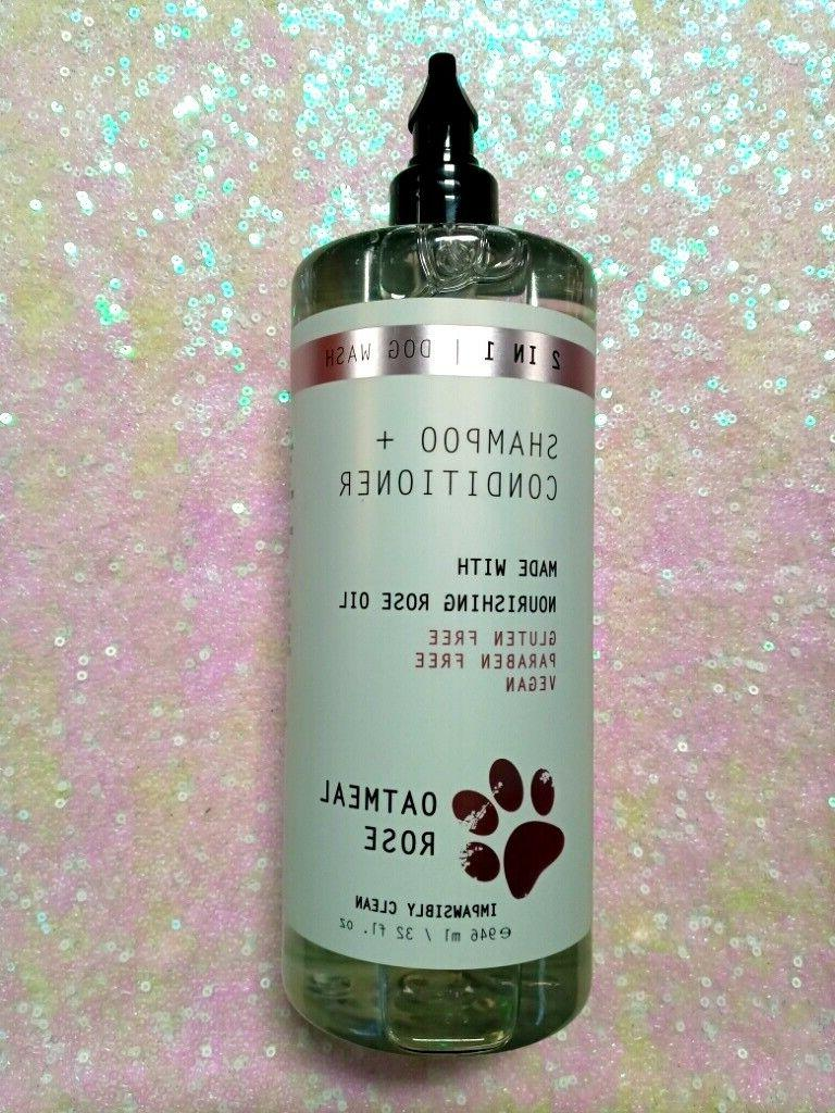 & Co 2 In 1 Shampoo Conditione ROSE OIL Oatmeal