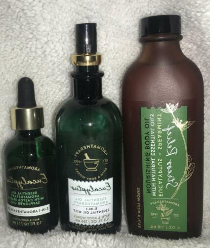2 bath and and body works aromatherapy