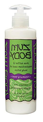 Indigo Wild: Zum Body Lotion, Rosemary Mint 8 oz