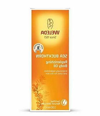 Weleda Hydrating Body Beauty Oil Sea Buckthorn Extracts 3 4