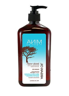 Mina Organics Argan Oil Body Wash 18 Fl oz.