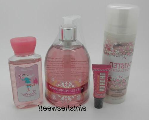 bath and body works twisted peppermint choose