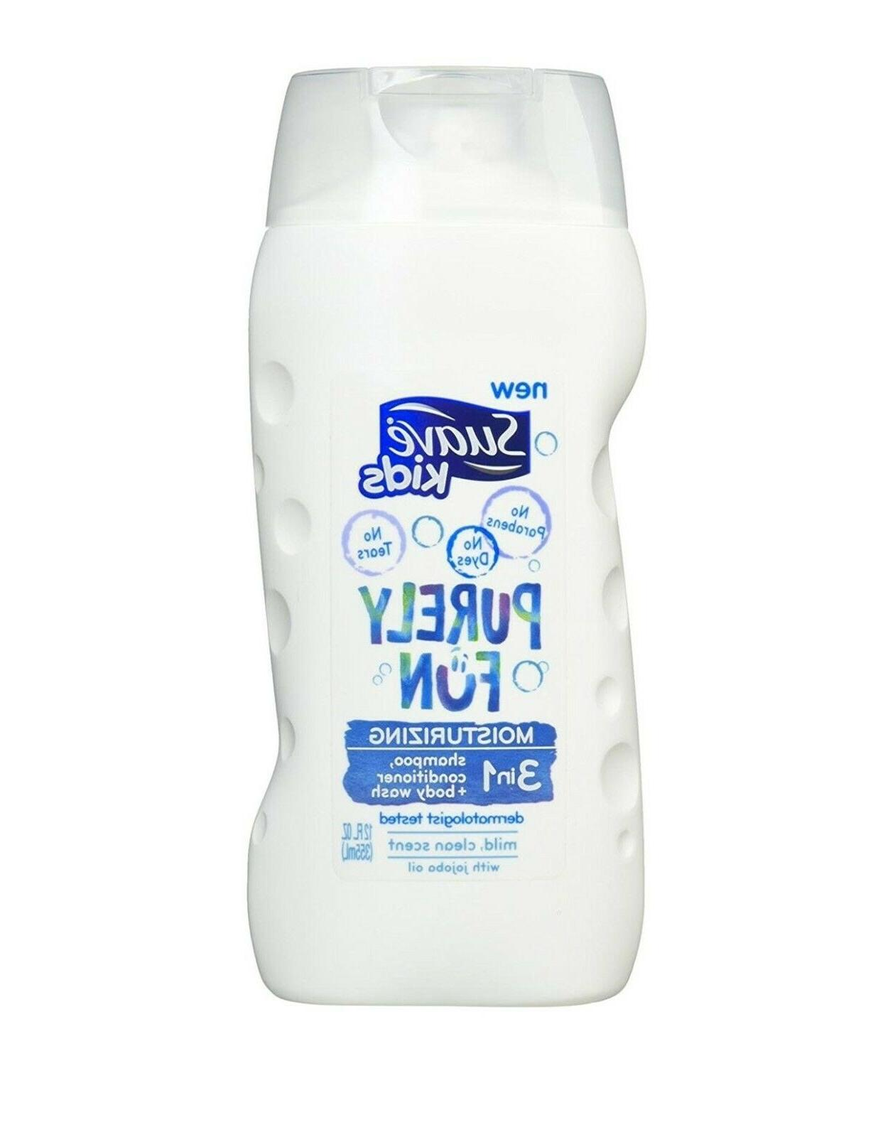 Suave Kids 3-in-1 Shampoo/Conditioner and Body Wash, Purely