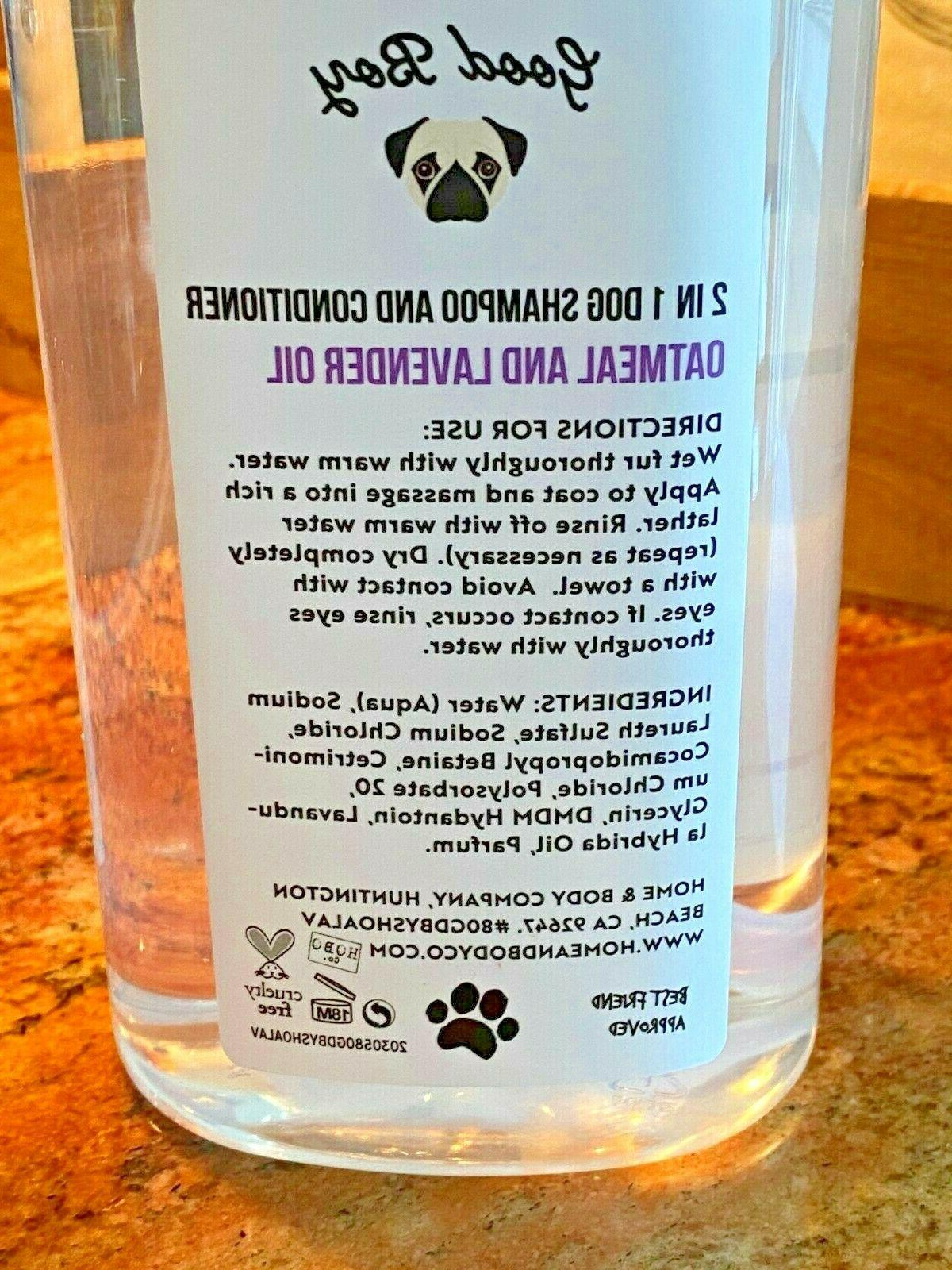 HOME & CO. GOOD BOY 1 DOG CONDITIONER OATMEAL/LAVENDER