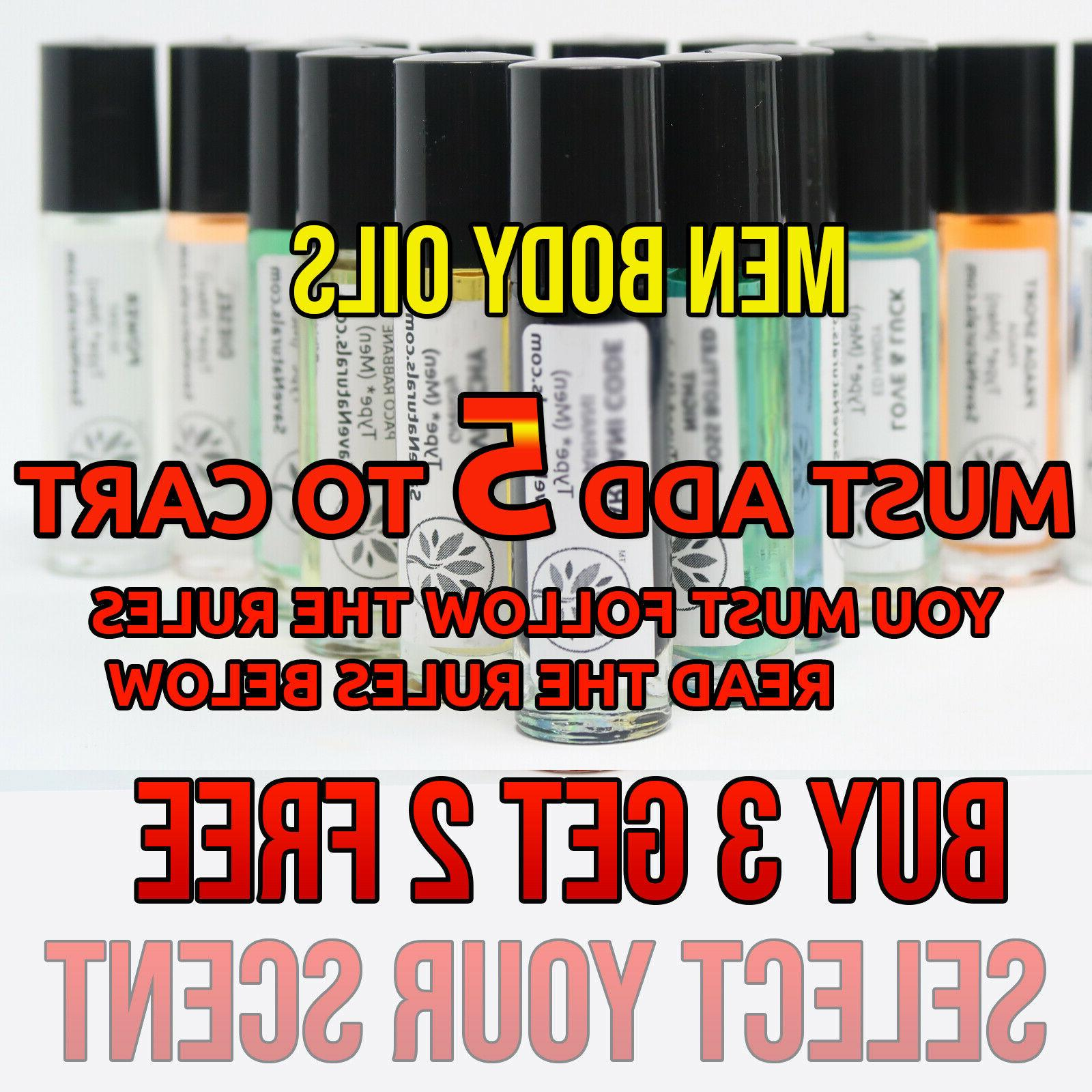 men cologne body oil variety top quality
