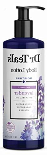 Dr Teal's Body Lotion Moisture plus Soothing Lavender, 16 fl