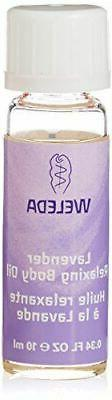 NEW Weleda Travel Lavender Relaxing Body Oil 0.34 Ounce for