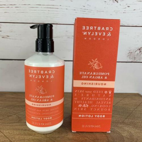 Crabtree & Evelyn Nourishing Body Lotion, Pomegranate and Ar