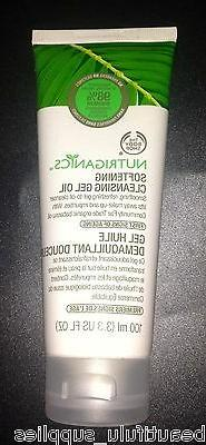 The BODY Shop NUTRIGANICS Softening Cleansing GEL OIL FULL S