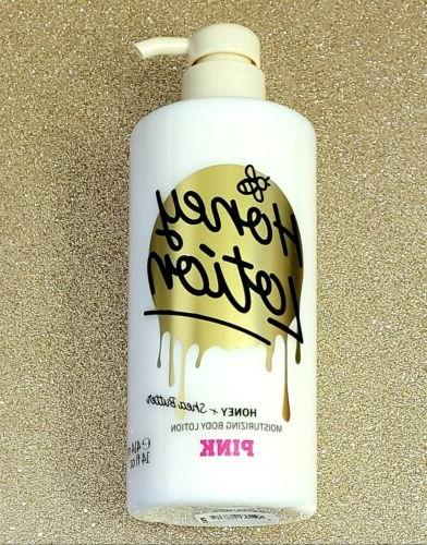 victorias secret pink honey lotion pure honey