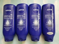 LOT NIVEA IN-SHOWER BODY LOTION ALMOND OIL  VERY DRY SKIN  1