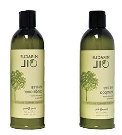 Earthly Body Miracle Oil Shampoo Hemp Seed & Argan Oil 16oz