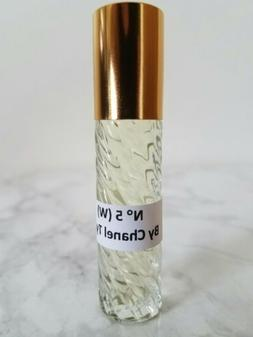 N°5 Chanel Type Perfume Body Oil Roll-on For Women Pure Nat