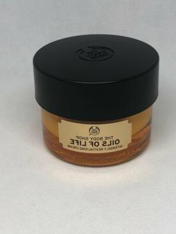 NEW The Body Shop Oils of Life INTENSELY REVITALISING CREAM