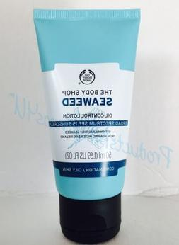 NEW The Body Shop SEAWEED OIL-CONTROL LOTION SPF 15 1.69oz/5