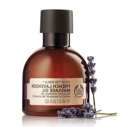 New The Body Shop Spa of the World French Lavender Massage O