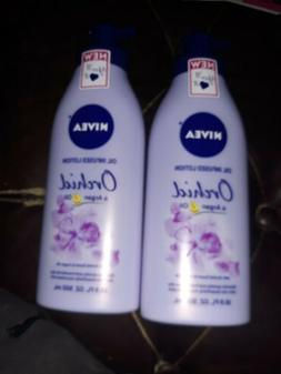 NIVEA Oil Infused Body Lotion Orchid and Argan Oil, 16.9 Flu