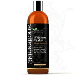 premium massage and body oil unscented base