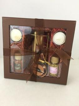 The Body Shop Sugar & Spice Home Fragrance Oil Set Gift Choc