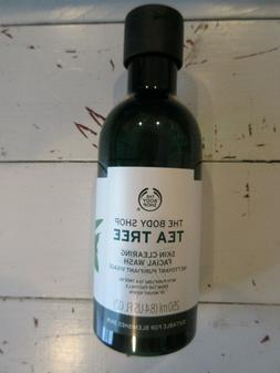 The Body Shop Tea Tree Skin Clearing Facial Wash Face Cleans