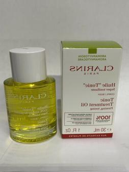 CLARINS TONIC BODY TREATMENT OIL ~ 100% PURE PLANT EXTRACTS